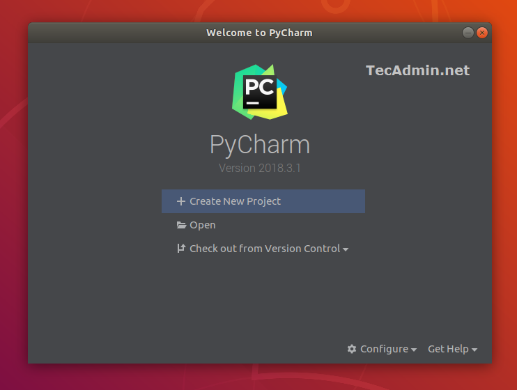Pycharm on Ubuntu