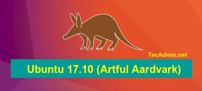 Ubuntu 17.10 Release