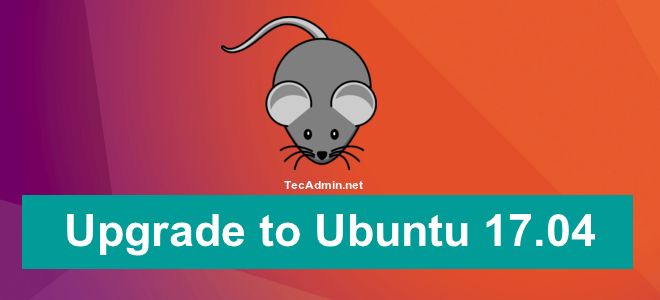 upgrade to ubuntu 17