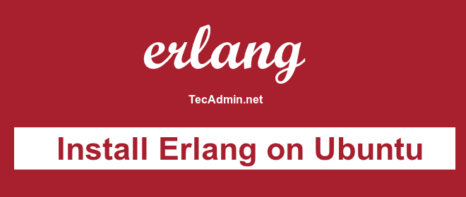 Install erlang on ubuntu