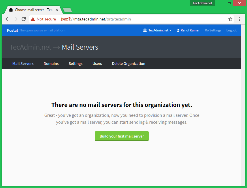 How to Install Postal Mail Server on Ubuntu 16 04 & 14 04