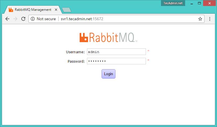 install rabbitmq server