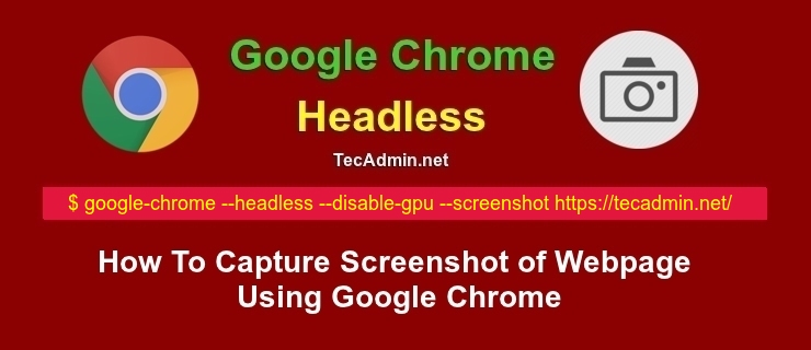 How to Capture Screenshot of Webpage Using Google Chrome