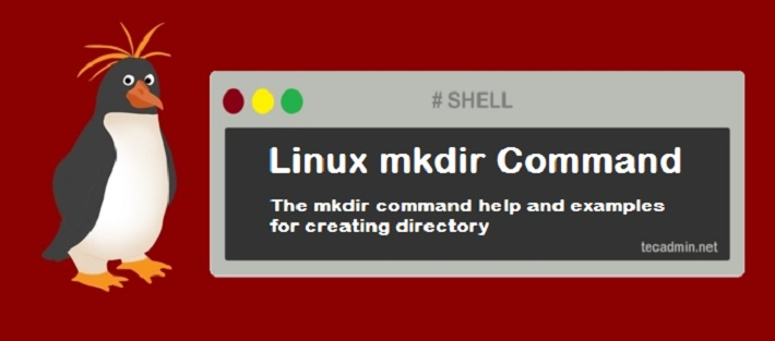 linux mkdir command