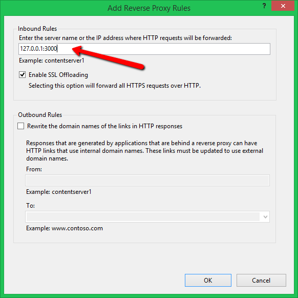 Reverse proxy using IIS 5