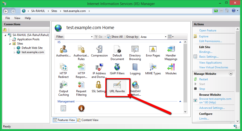 How to Enable URL Rewrite in IIS 8 5/8/7 – TecAdmin