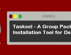 Tasksel Group Package installation