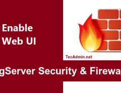 Enable CSF Firewall Web UI