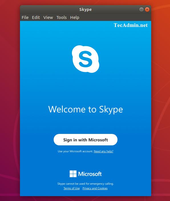 How To Install Skype on Ubuntu 18 04 & 16 04 - TecAdmin