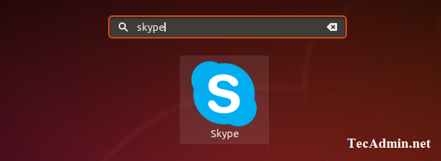 Skype launch on Debian