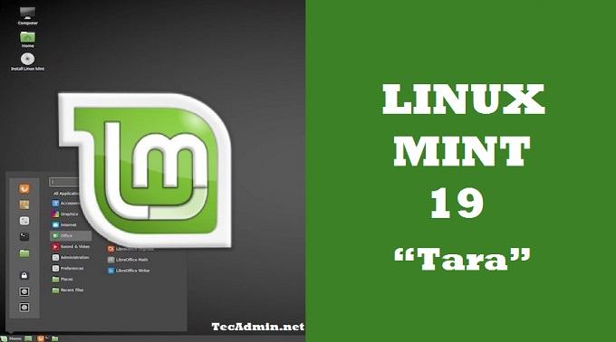 Linux Mint 19 - Tara