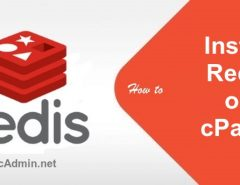 install redis on cpanel
