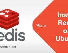 install Redis on Ubuntu