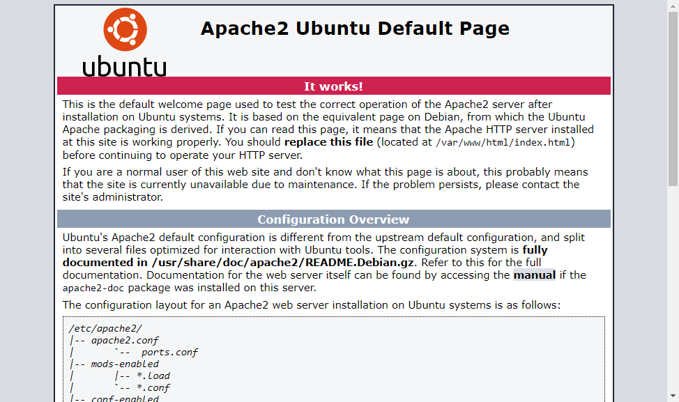Install Apache LAMP on Ubuntu 18.04