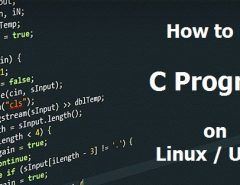 Run C Program on Linux