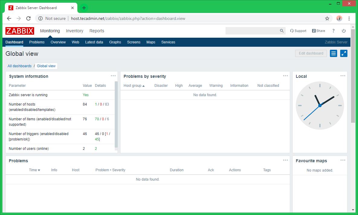 Zabbix Server Installation