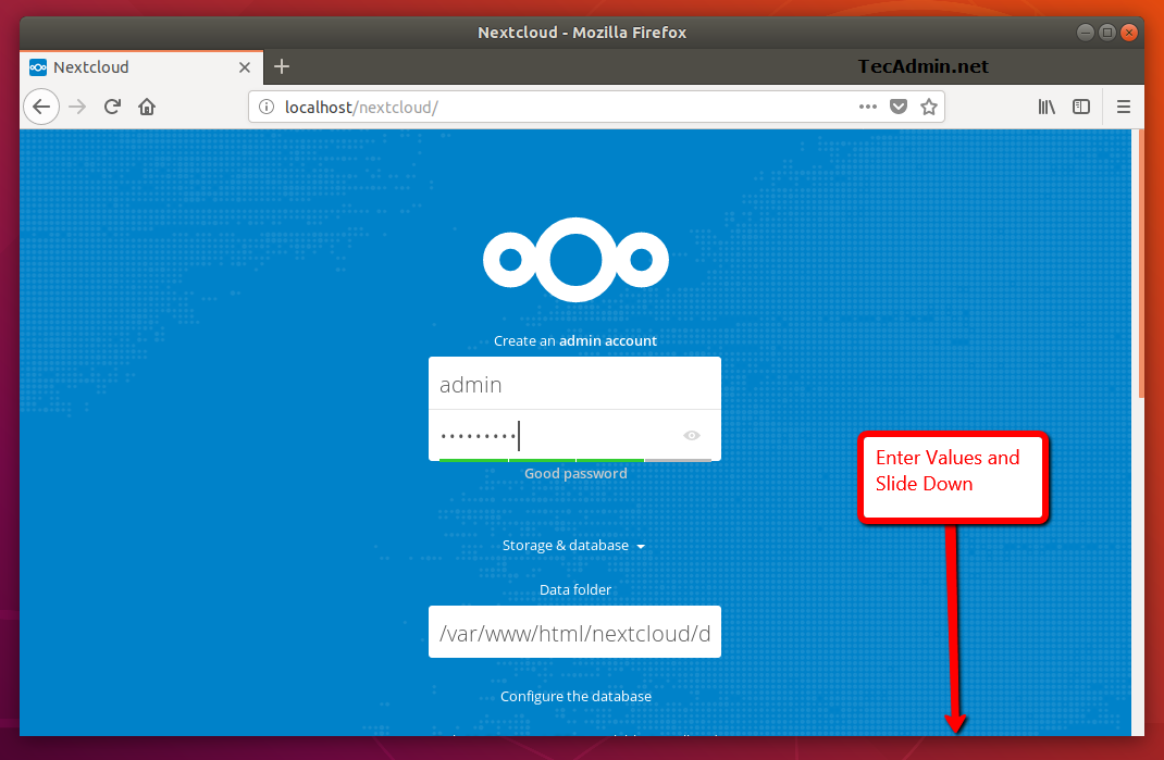 install nextcloud on debian 1