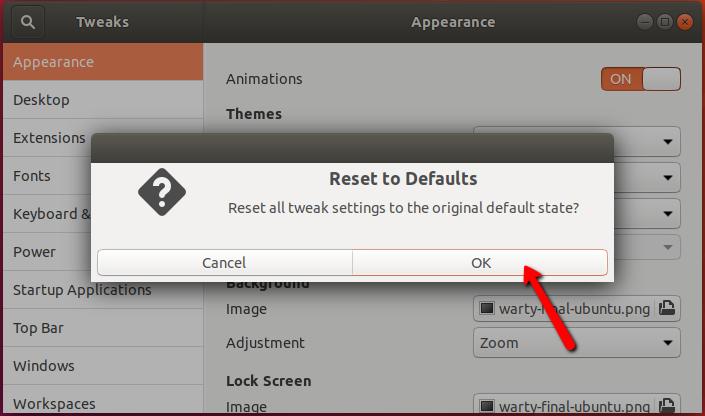 Tumblr Login Screen Not Working: How To Reset Gnome Desktop On Ubuntu 18.04 Bionic