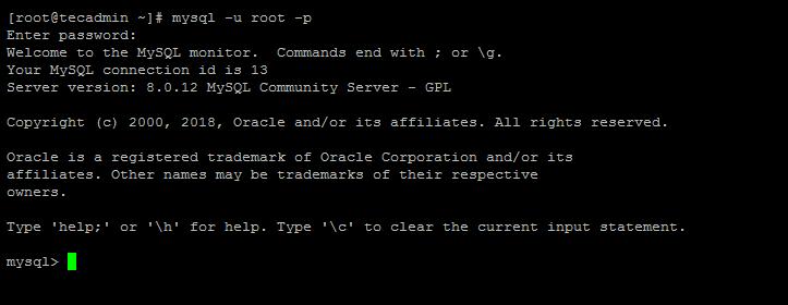 installing mysql 8 Fedora