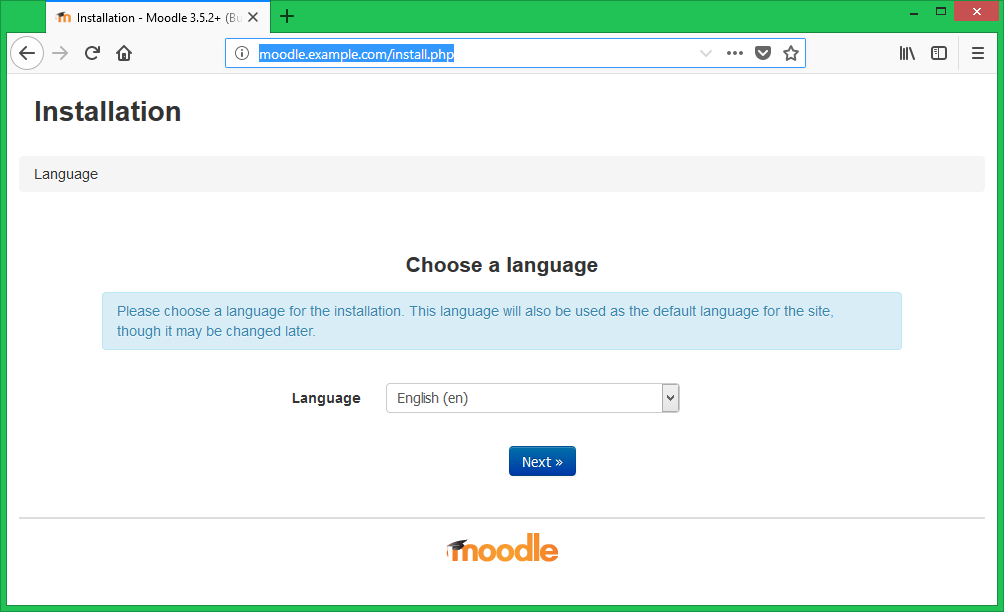 How to Install Moodle 3 5 on Fedora 30/29/28 – TecAdmin