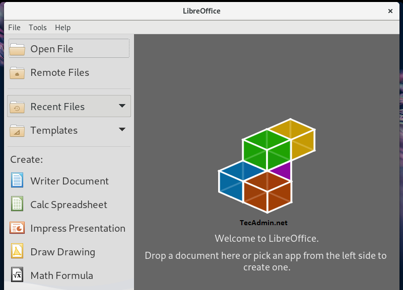 How To Install Libreoffice 6 2 on Fedora 30/29/28 – TecAdmin