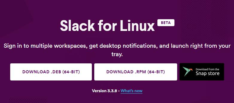 Slack on Linux