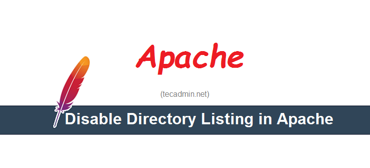 Disable directory listing apache