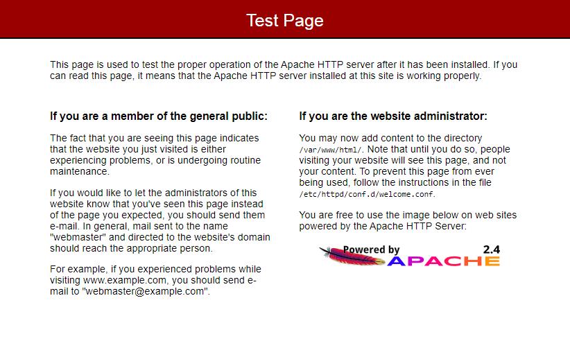 Installing Apache 2.4 on Amazon Linux