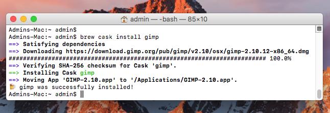 How to Install GIMP on MacOS – TecAdmin