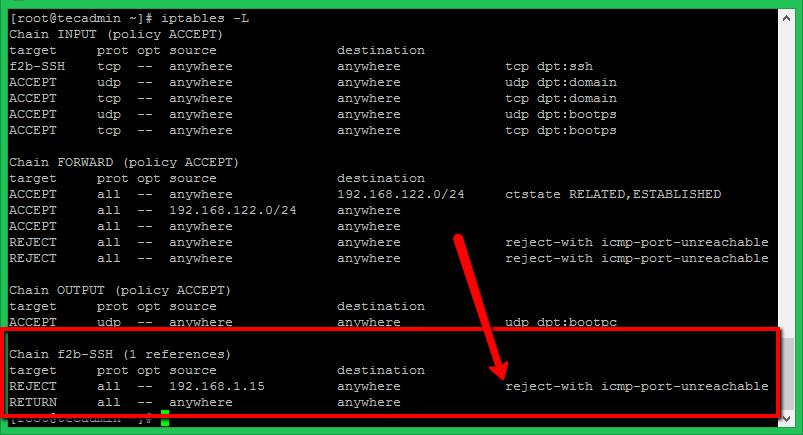 How to Install Fail2Ban on CentOS 8 & Fedora 30/29 – TecAdmin