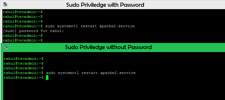 Password-less Sudo in Linux