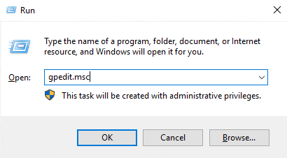 Windows edit group policy