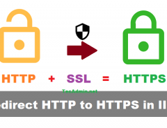 Redirect to HTTPS in IIS