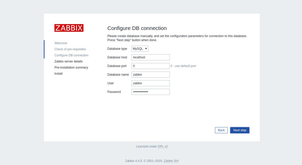 Step 3 - Install Zabbix CentOS 8
