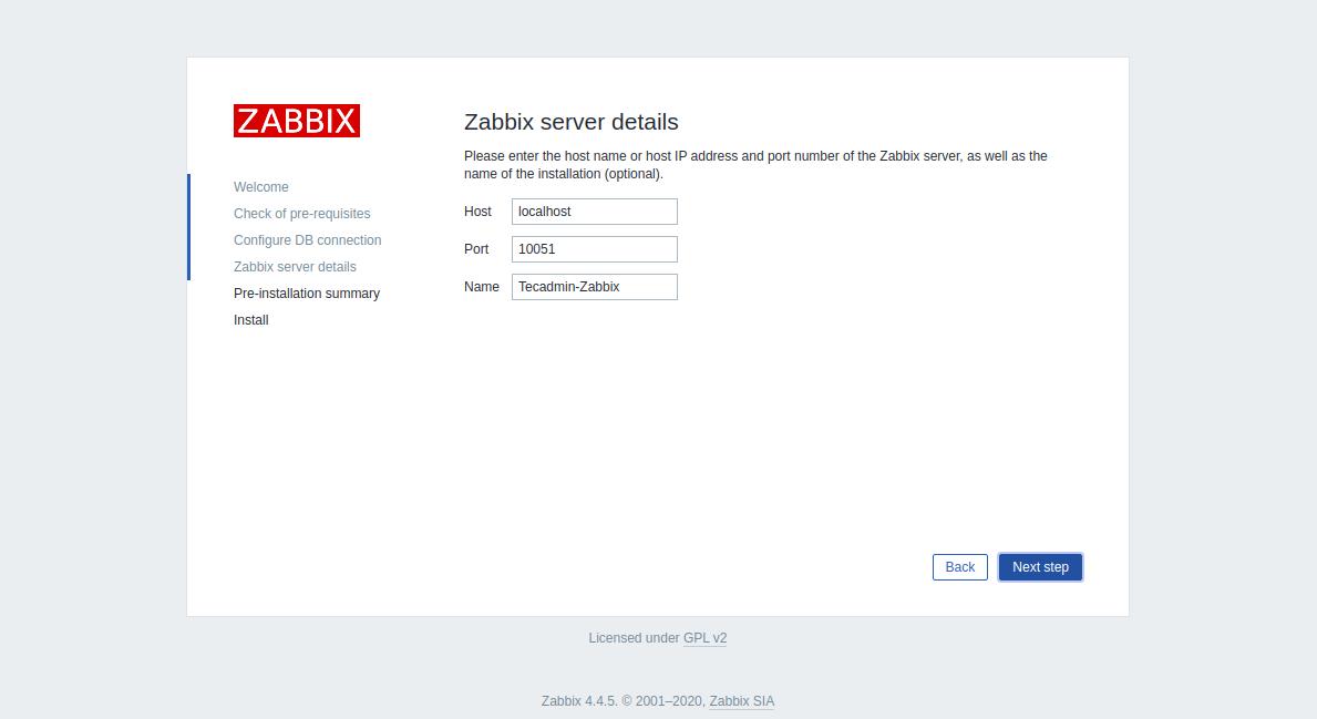 Step 4 - Install Zabbix CentOS 8