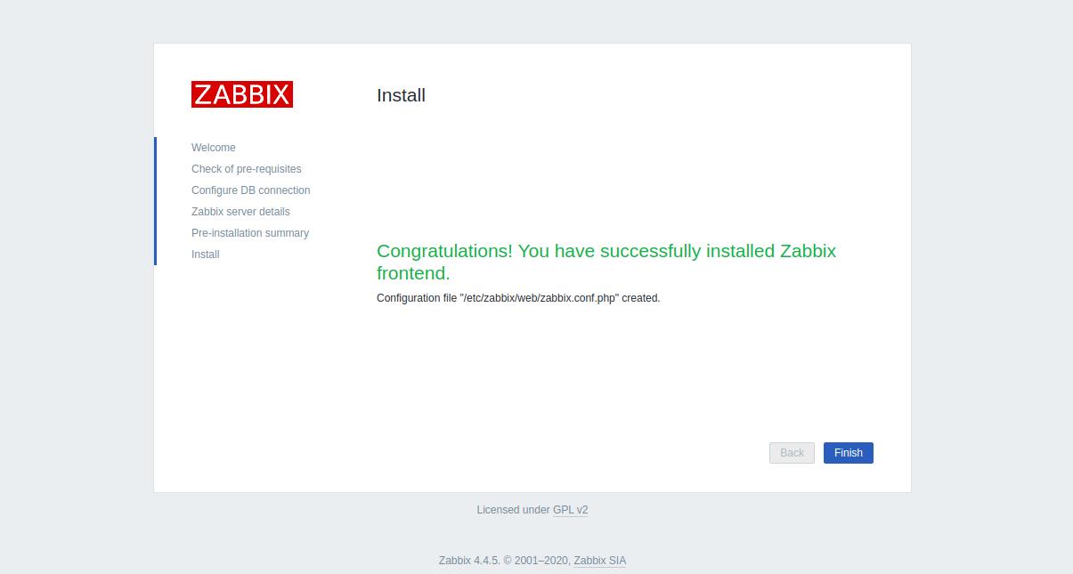 Step 6 - Install Zabbix CentOS 8