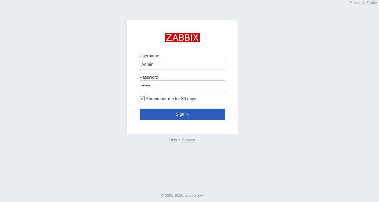 Step 7 - Install Zabbix CentOS 8