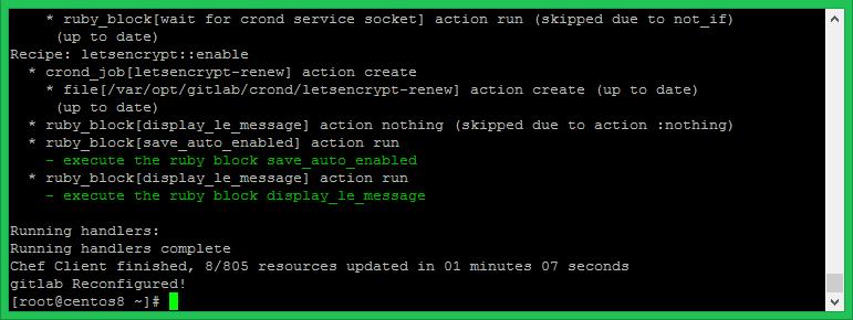 Gitlab Configuration on Linux
