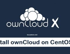 install ownCloud CentOS 8