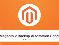 Magento2 Backup Script with automation