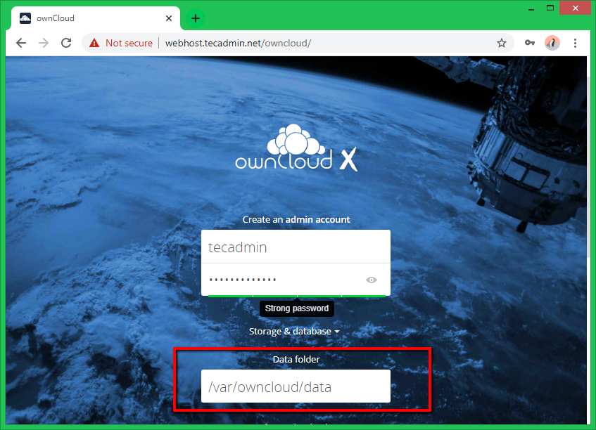 Install owncloud centos