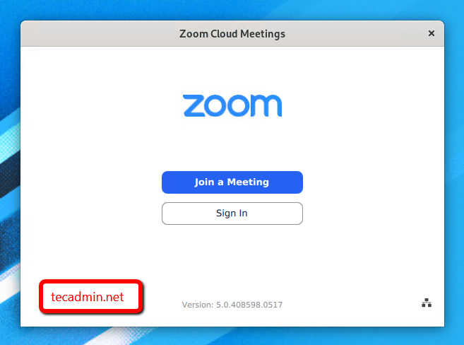 install zoom client on fedora