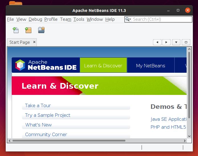 installing netbeans Ubuntu 20.04