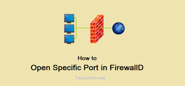 How to Open Specific Port in FirewallD