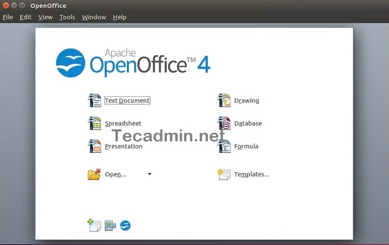 Install OpenOffice on Ubuntu 20.04