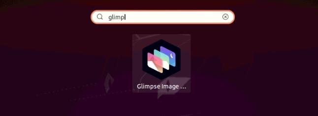 Launch Glimpse on Ubuntu 20.04
