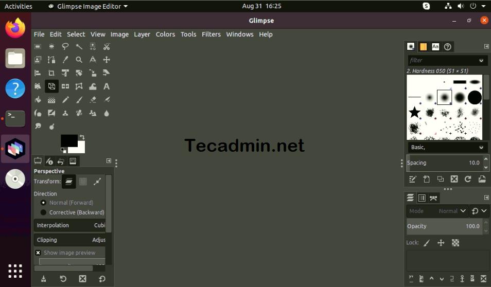 Running Glimpse on Ubuntu 20.04