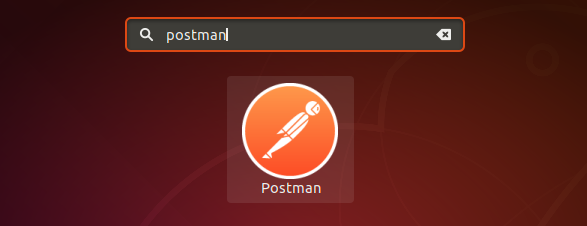 Launch  postman Ubuntu 18.04