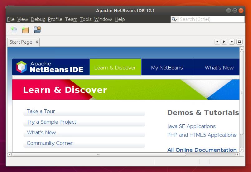 Installing NetBeans on Ubuntu 18.04