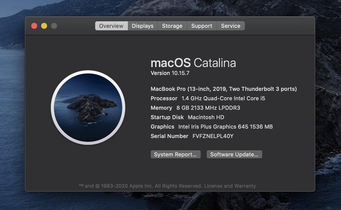 Check macOS Version